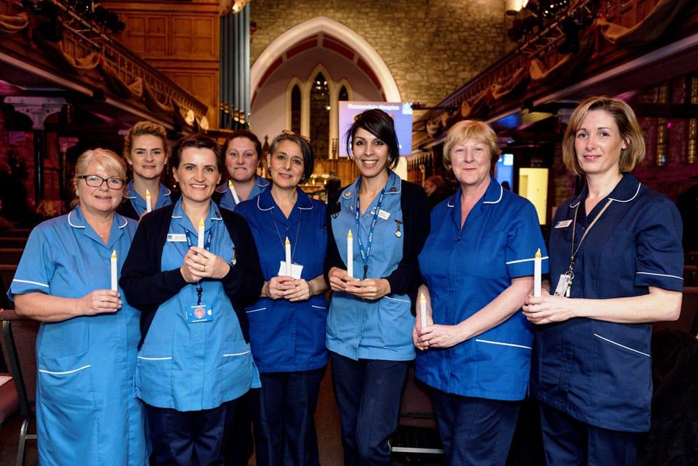 Nursing staff at Light up a Life event 20161