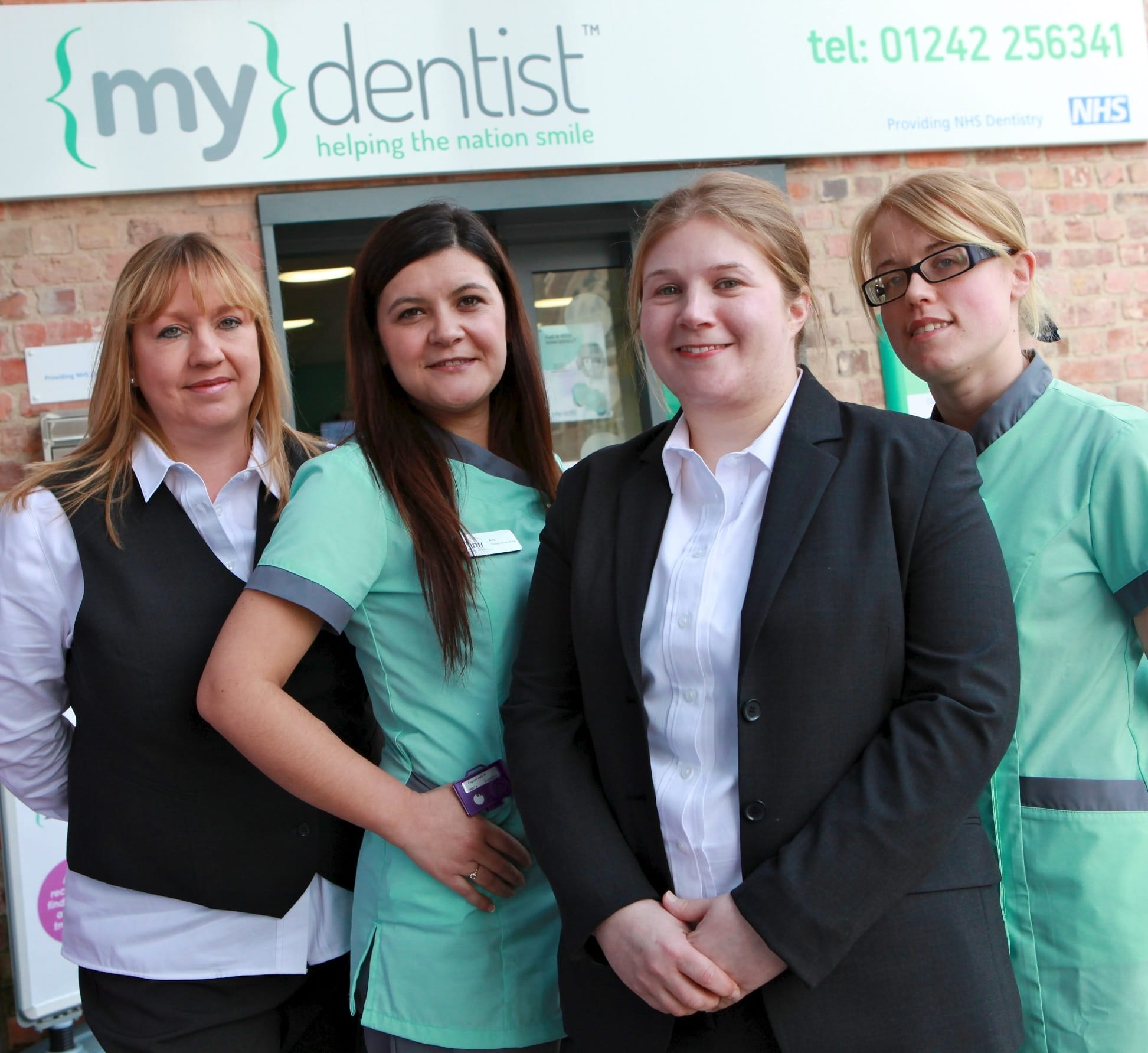Photos of new re-brand of My Dentist, The Brewery, Henrietta Street, Cheltenham. Practice Manager is Laura Matthews PICTURED: Lesley Hole, Ana Figiueiurdo, Laura Matthews and Kara Tovey. Contact: 01242 256341 Photos by Anna Lythgoe