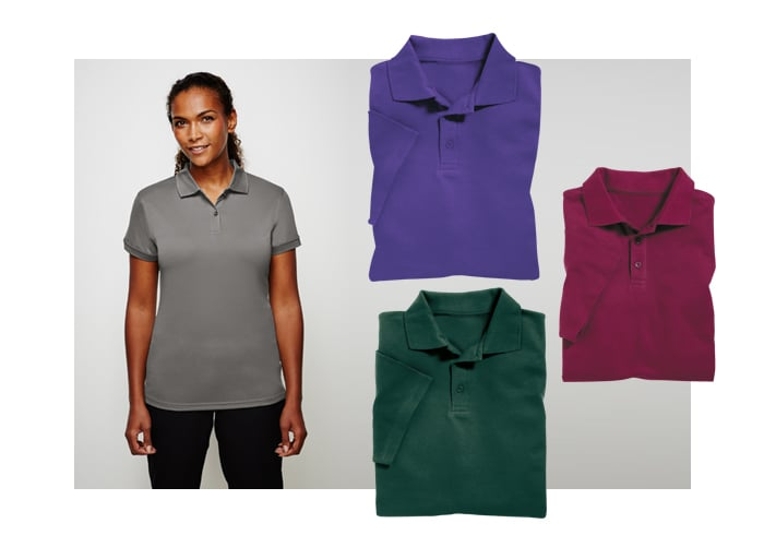 Branded Polos for Uniform