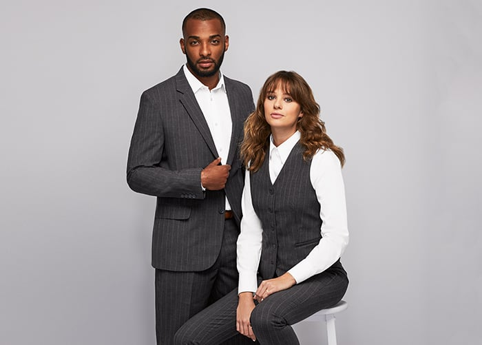 Quality suiting workwear