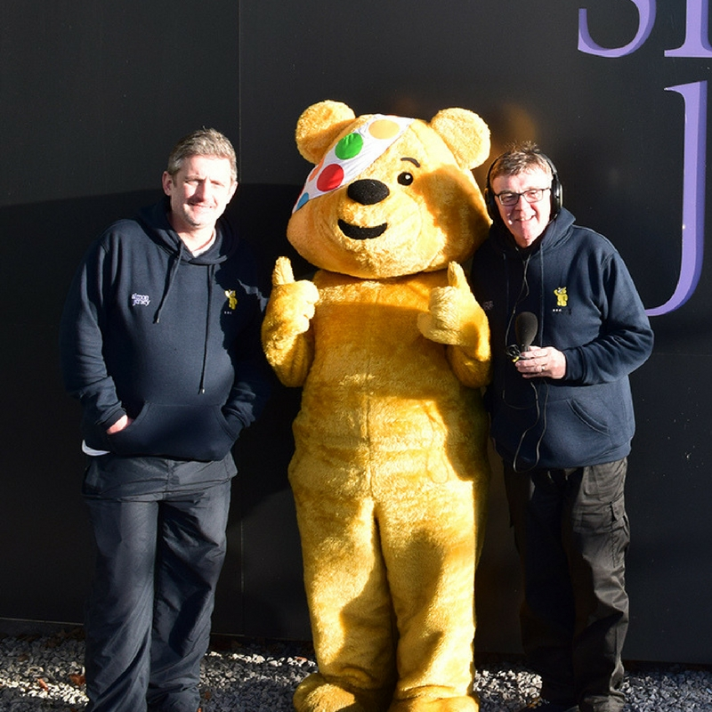 BBC Radio Lancashire Children in Need Simon Jersey