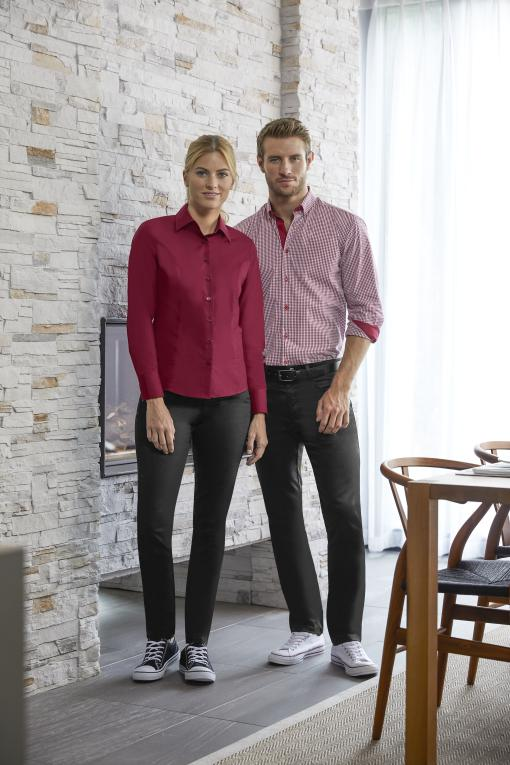 SImon Jersey checked and plain shirts