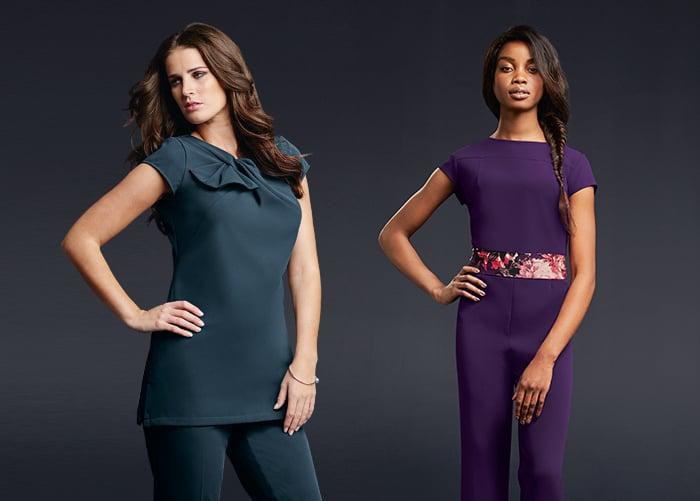 Modern stylish beauty uniform tunics