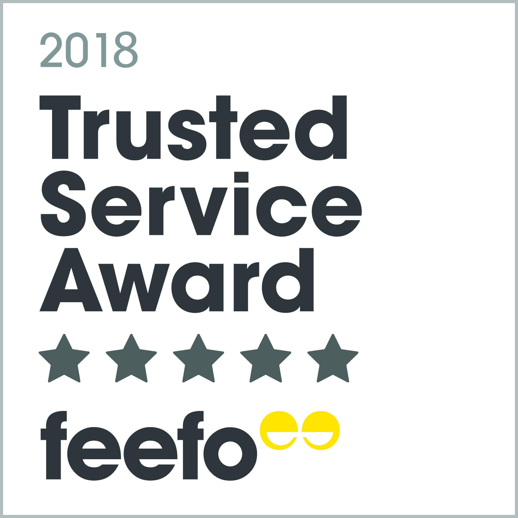 Feefo trusted