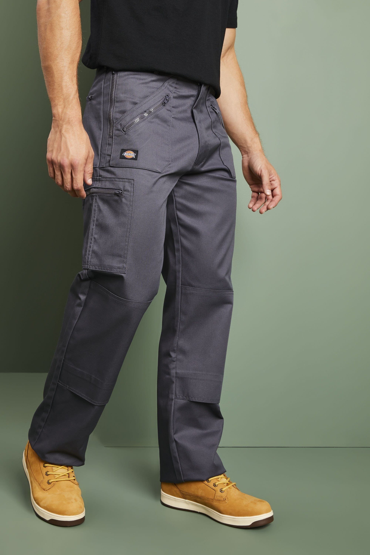 Dickies Redhawk Pantalones De Trabajo Hombre Carbon Vegetal Catalogo De Simon Jersey Reino Unido