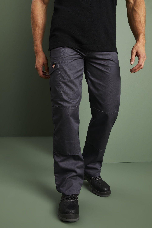 Dickies Redhawk - Pantalones de Trabajo Hombre, Gris ...