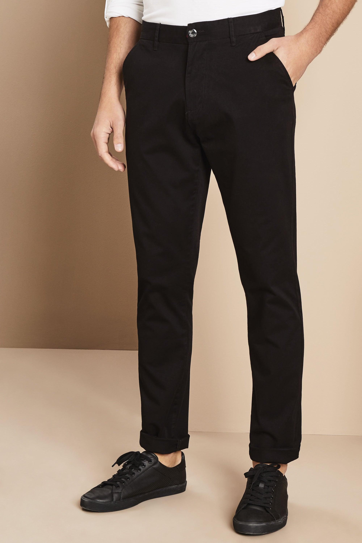 Pantalones Chino Hombre Negro Catalogo De Simon Jersey Reino Unido