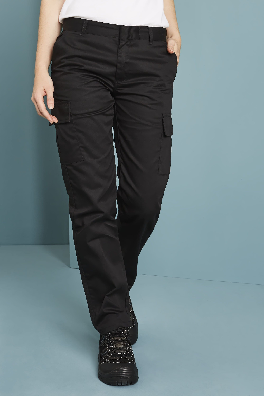 Uneek Pantalon Cargo Femme Uc905 Noir Simon Jersey