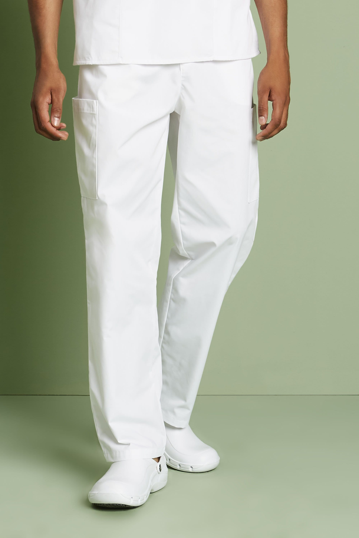 HKM Basic Pantalon d/équitation pour Homme Taille Unique Blanc.