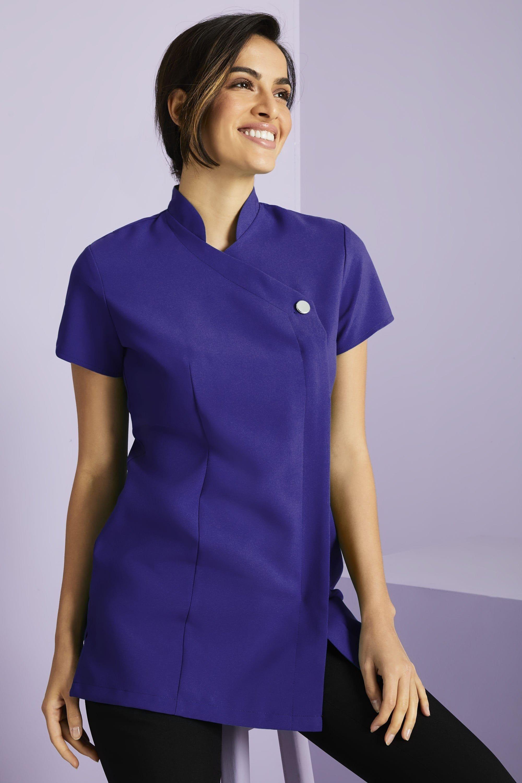 BNWT Pourpre LONDON femme robe//tunique en jersey doux Papillon Gris Multi 8-16