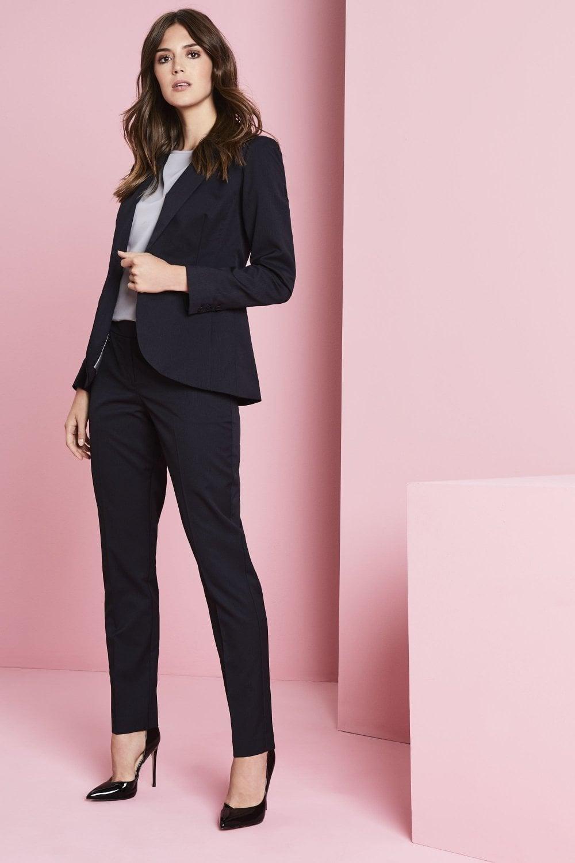 e3f5f8b337d5b Alderley Women's Blue Stripe Trouser Suit