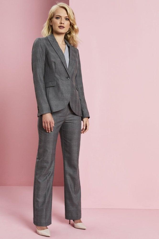 Резултат слика за woman wearing grey suit