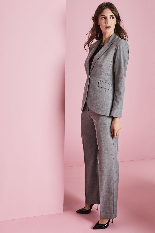 b0a24c9655ed Alderley Women's Grey Sharkskin Trouser Suit - SHOP ALL from Simon Jersey UK