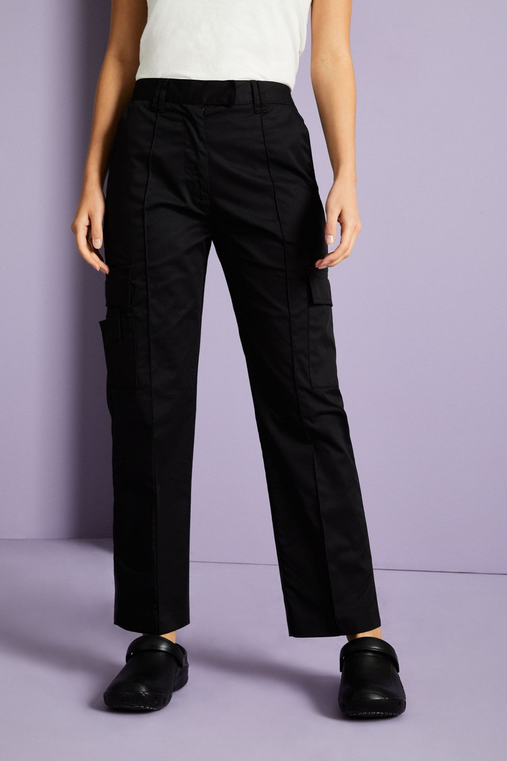finest fabrics watch limited style Benchmark Women's Classic Cargo Trousers