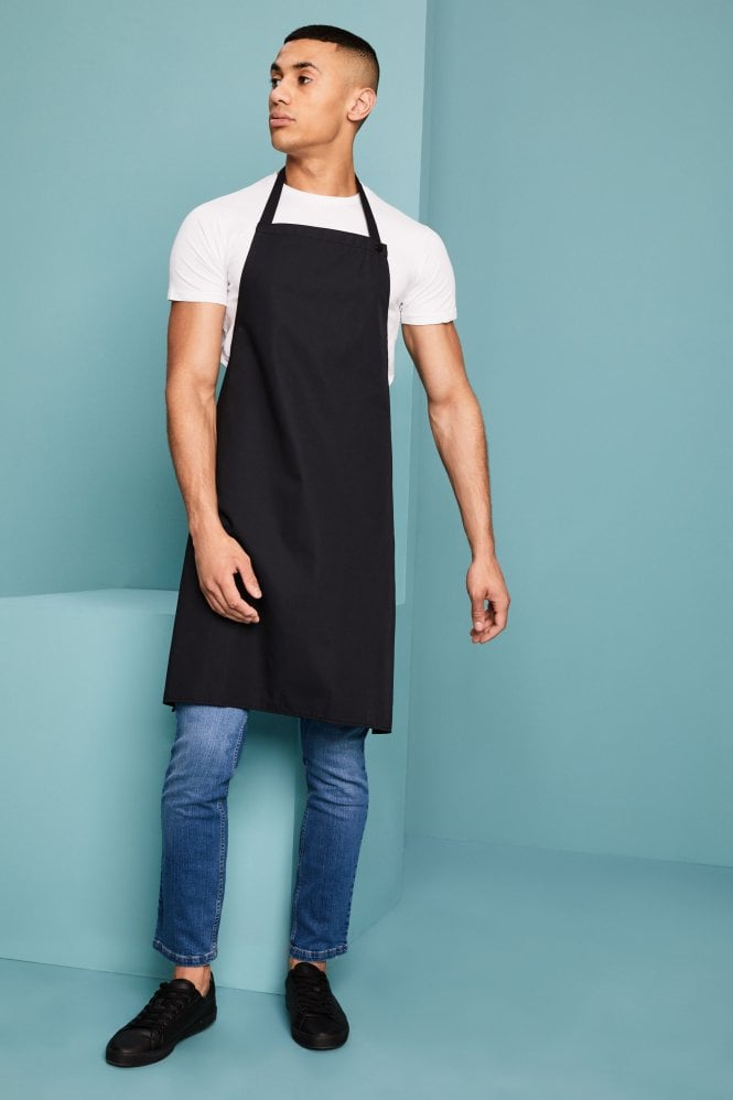 Black Popper Strap Apron