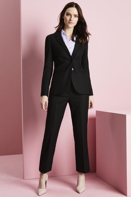 Contemporary Women\u0027s Black Suit