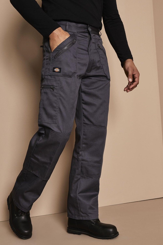 New Mens Dickies Redhawk Action Workwear Trouser Work Pockets Pants Working Pant