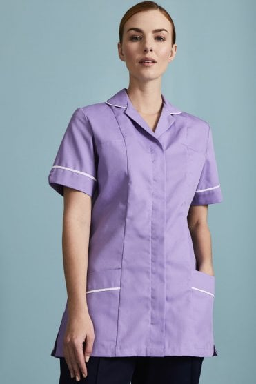 6971bb1dc7d90 Essentials Women's Healthcare Tunic - With Various Trim Colours