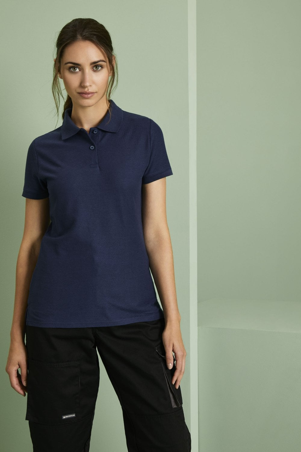 ca3f5a64 Fruit of the Loom Lady-fit 65/35 Polo at www.simonjersey.com. We have a  wide range of great value uniform workwear Polos and T-Shirts available for  ...