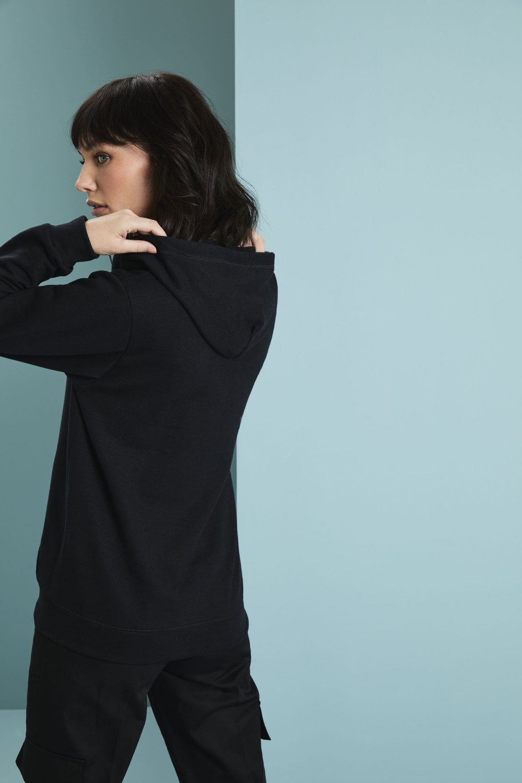 Gildan Damen–Sweatjacke mit Kapuze GD080