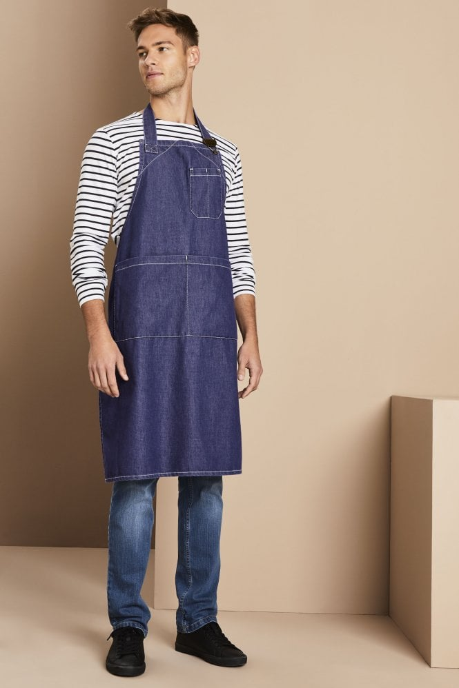 Heavyweight Denim Bib Apron