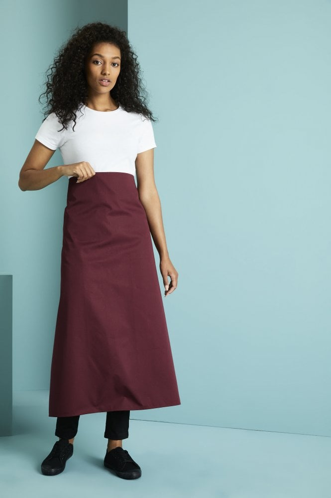 Long Apron, Mulberry