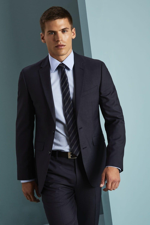 big discount presenting catch Men's Alderley Suit Jacket, Blue Sharkskin - SHOP BY INDUSTRY from ...