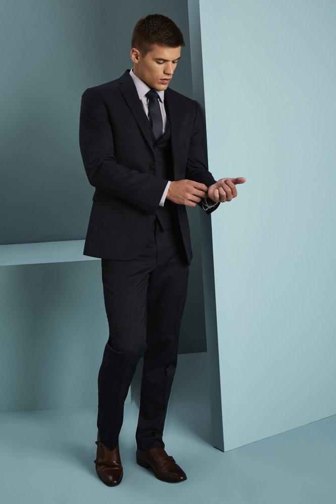 Men\u0027s Alderley Suit Jacket, Blue Stripe