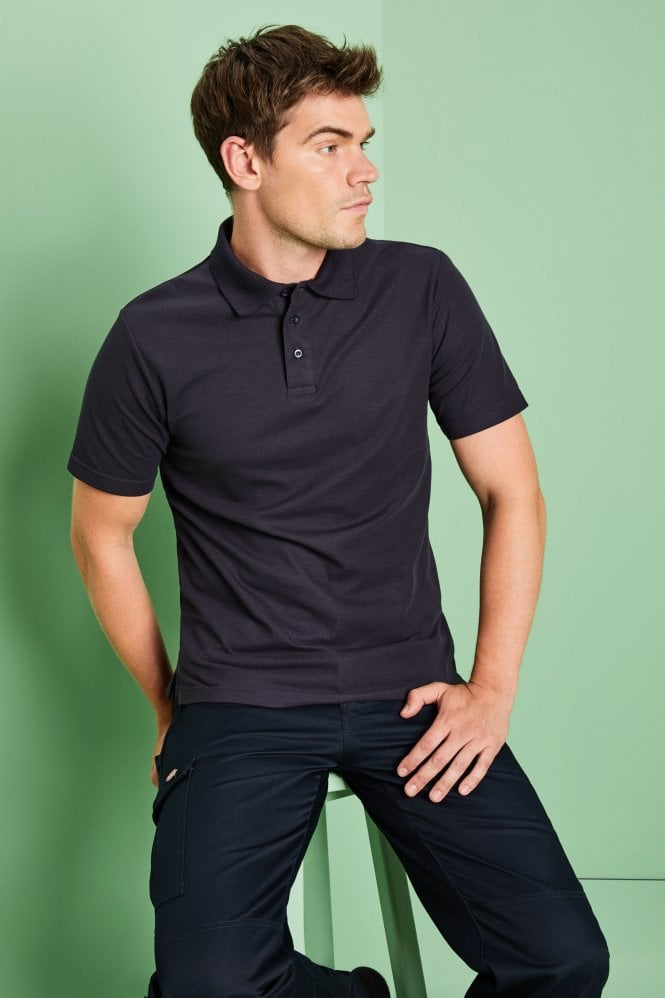 Men's Fit Polo Shirt, Navy