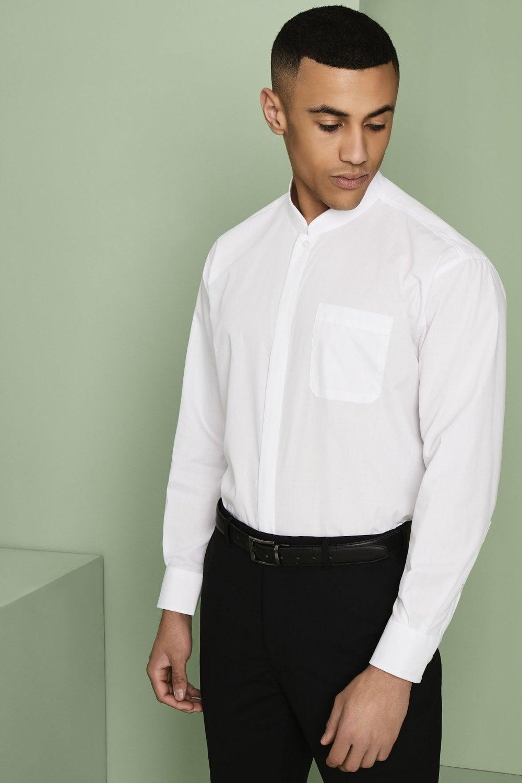 Simon Jersey Men/'s Polycotton Long Sleeve Classic Collar Shirt