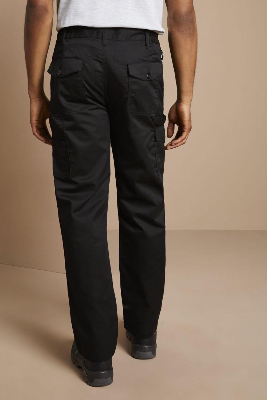 well known 50% price best cheap Men's Regatta Pro Cargo Trousers TRJ500, Black