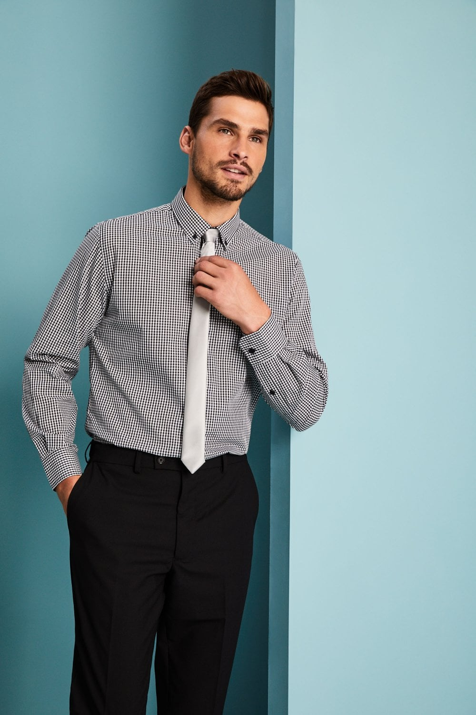 e497a1b73 Premier Workwear Skinny Tie, Silver - SHOP ALL from Simon Jersey UK