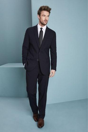 9238b9eee89d Qualitas Men's Navy Suit