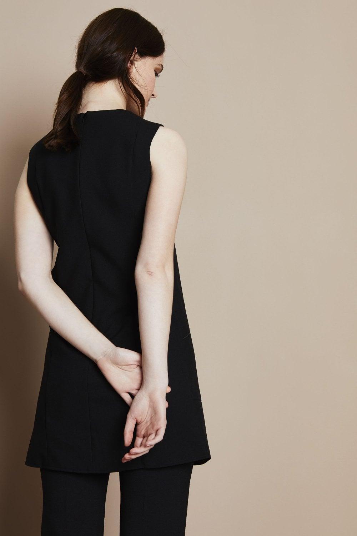 Sleeveless Tunic - Simon Jersey Salon Uniforms b25f74886