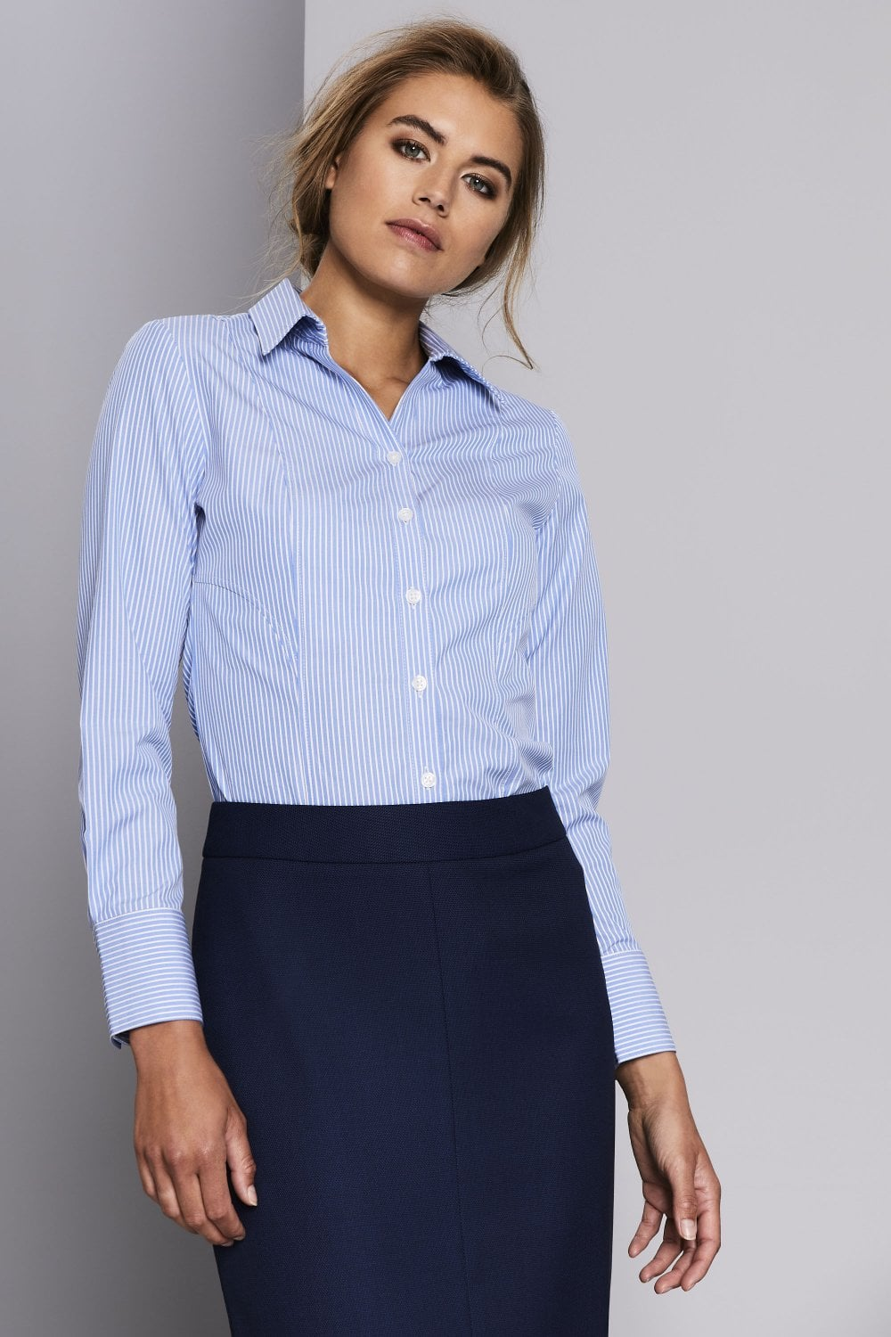 37a0cc8c1 Women's Business Stripe Shirt - SHOP BY PROFESSION from Simon Jersey UK