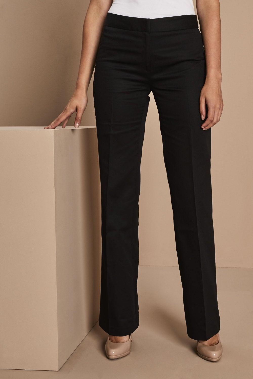 catch sale retailer new release Pantalon Coupe Droite Femme